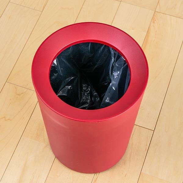 ゴミ箱 6.7L 丸型 くず入れ コンパクト ダストボックス ( ごみ箱 屑入れ リビング 部屋用 寝室 おしゃれ 小型 おすすめ )|interior-palette|06