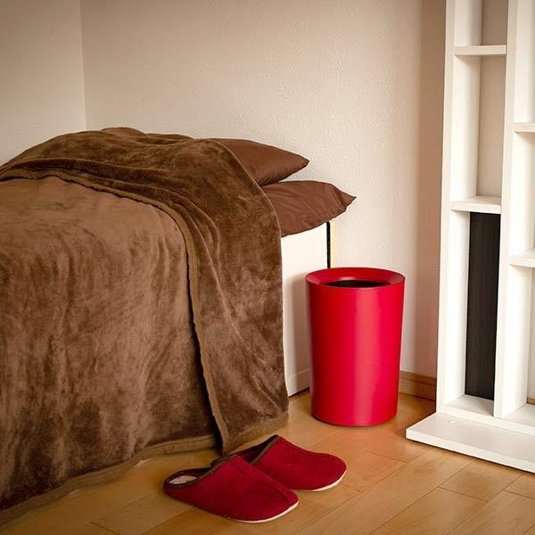 ゴミ箱 6.7L 丸型 くず入れ コンパクト ダストボックス ( ごみ箱 屑入れ リビング 部屋用 寝室 おしゃれ 小型 おすすめ )|interior-palette|08