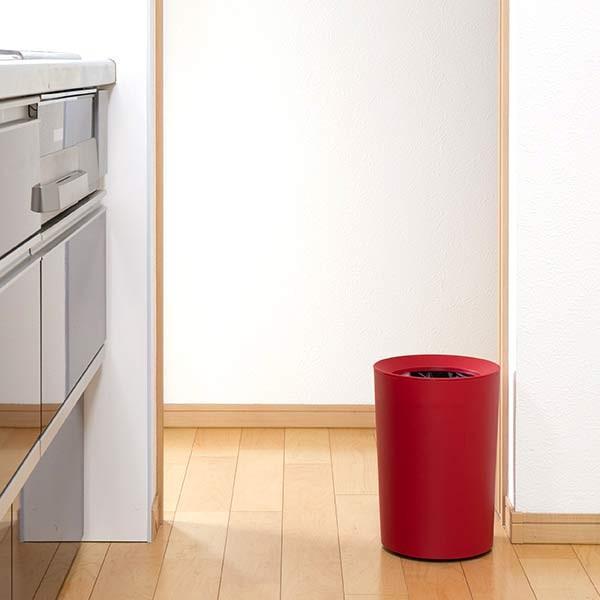 ゴミ箱 6.7L 丸型 くず入れ コンパクト ダストボックス ( ごみ箱 屑入れ リビング 部屋用 寝室 おしゃれ 小型 おすすめ )|interior-palette|09