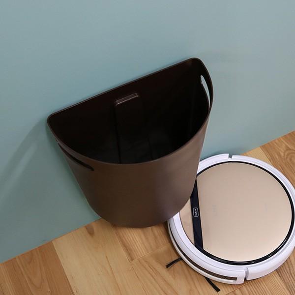 ゴミ箱 壁掛けダストボックス 9L マグネットシート2枚付き 日本製 ( ごみ箱 収納 整理 おしゃれ 分別 キッチン 隙間 )|interior-palette|06
