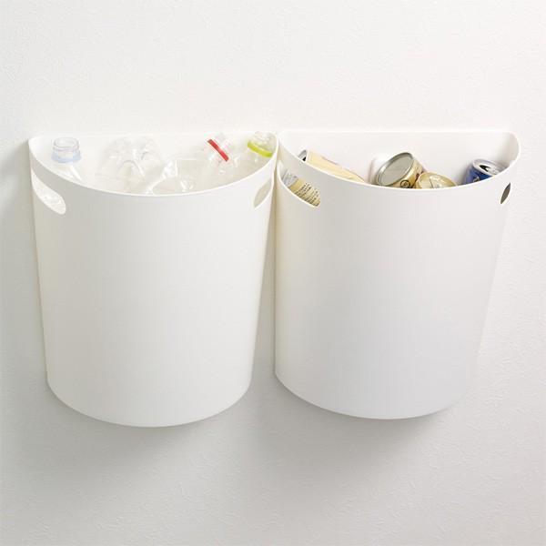 ゴミ箱 壁掛けダストボックス 9L マグネットシート2枚付き 日本製 ( ごみ箱 収納 整理 おしゃれ 分別 キッチン 隙間 )|interior-palette|08