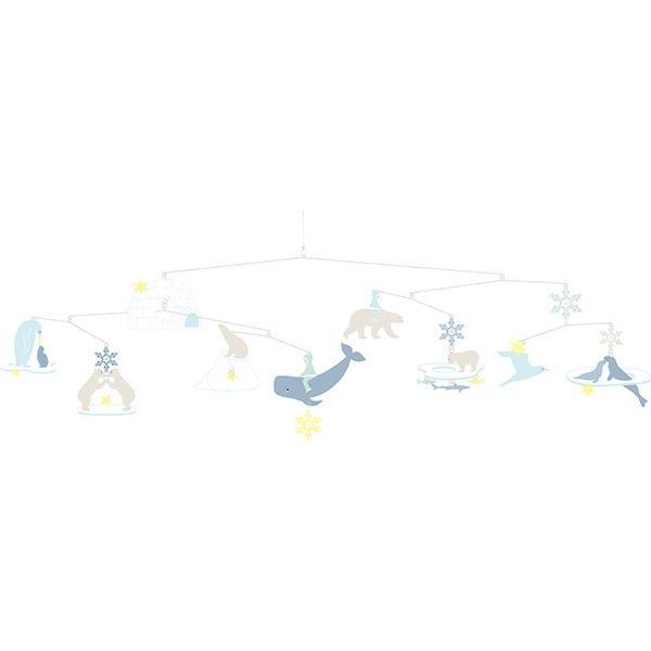 モビール ポーラーベアーズ ジェコ 北欧 おしゃれ ( DJECO メリー ベッドメリー ベビー しろくま 赤ちゃん )|interior-palette|06