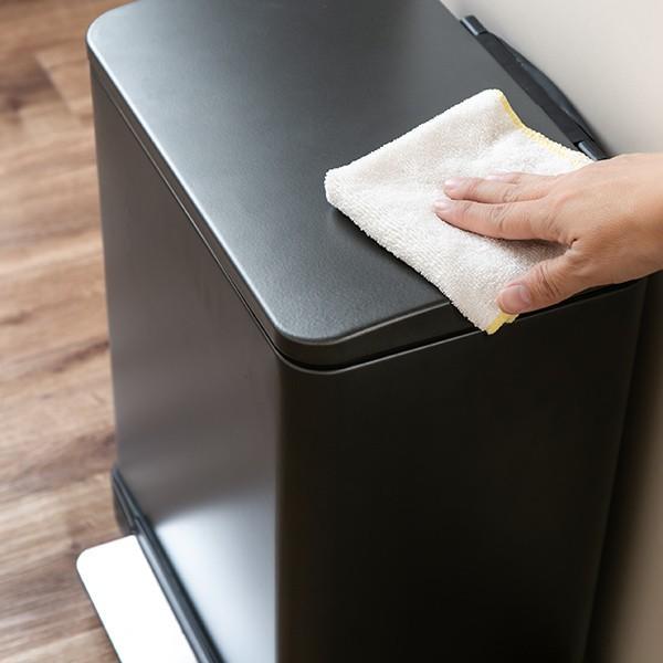 ゴミ箱 ペダル 20L Lase ステンレス ふた付き JAVA ( ごみ箱 フタ付き ダストボックス )|interior-palette|14