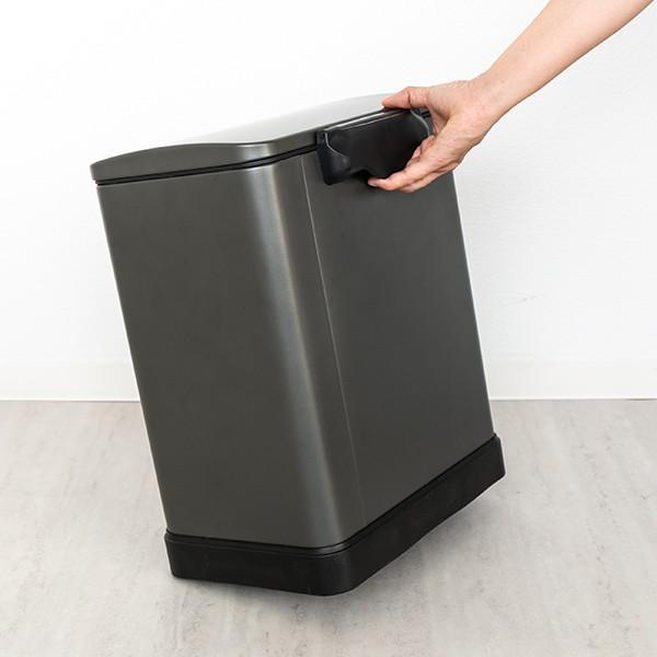 ゴミ箱 ペダル 20L Lase ステンレス ふた付き JAVA ( ごみ箱 フタ付き ダストボックス )|interior-palette|16