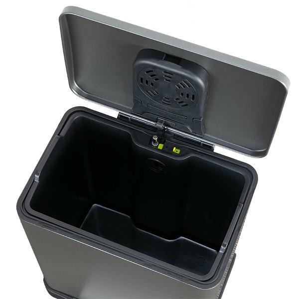 ゴミ箱 ペダル 20L Lase ステンレス ふた付き JAVA ( ごみ箱 フタ付き ダストボックス )|interior-palette|18