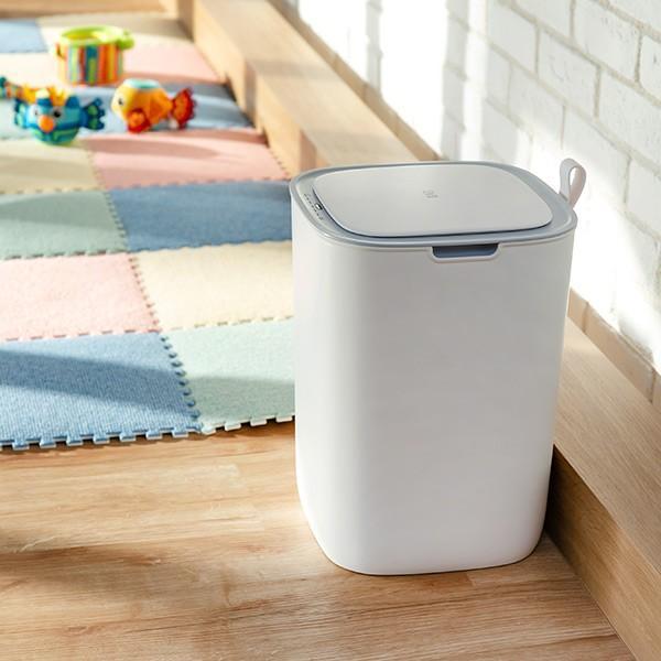 ゴミ箱 EKO モランディ 防臭 センサー 12L パッキン付き ( ごみ箱 自動 ダストボックス 臭わない キッチン ふた付き )|interior-palette|11