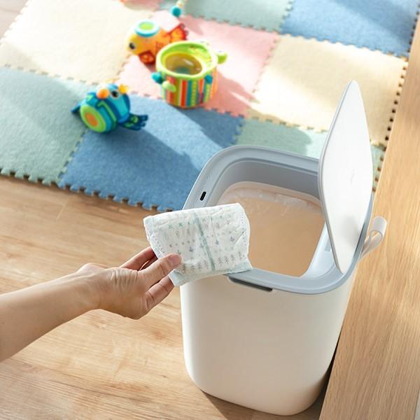 ゴミ箱 EKO モランディ 防臭 センサー 12L パッキン付き ( ごみ箱 自動 ダストボックス 臭わない キッチン ふた付き )|interior-palette|12