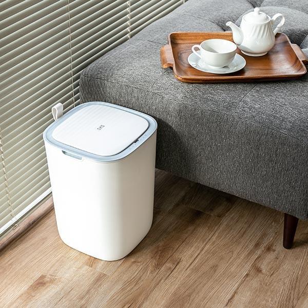 ゴミ箱 EKO モランディ 防臭 センサー 12L パッキン付き ( ごみ箱 自動 ダストボックス 臭わない キッチン ふた付き )|interior-palette|15