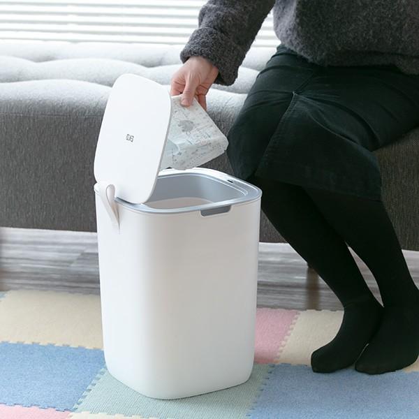 ゴミ箱 EKO モランディ 防臭 センサー 12L パッキン付き ( ごみ箱 自動 ダストボックス 臭わない キッチン ふた付き )|interior-palette|18