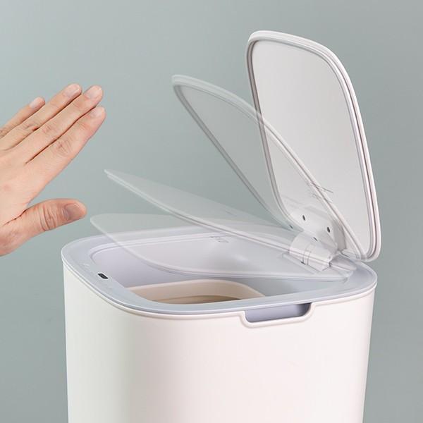 ゴミ箱 EKO モランディ 防臭 センサー 12L パッキン付き ( ごみ箱 自動 ダストボックス 臭わない キッチン ふた付き )|interior-palette|07