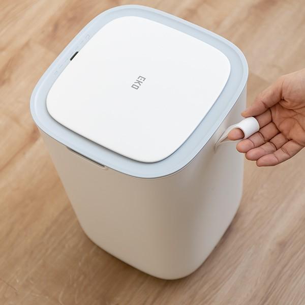 ゴミ箱 EKO モランディ 防臭 センサー 12L パッキン付き ( ごみ箱 自動 ダストボックス 臭わない キッチン ふた付き )|interior-palette|09
