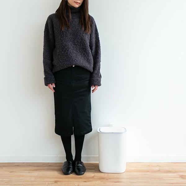 ゴミ箱 EKO モランディ 防臭 センサー 12L パッキン付き ( ごみ箱 自動 ダストボックス 臭わない キッチン ふた付き )|interior-palette|10