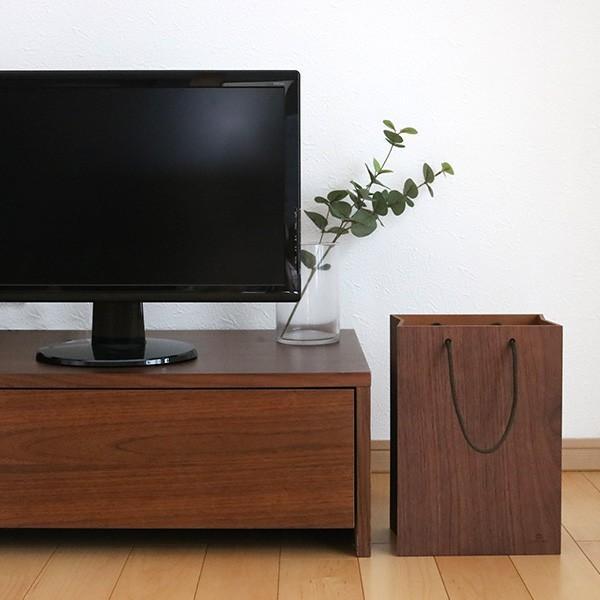 ゴミ箱 ヤマト工芸 yamato BAG dust 木製 吊り下げ 床置き ( ごみ箱 ダストボックス 壁掛け )|interior-palette|11