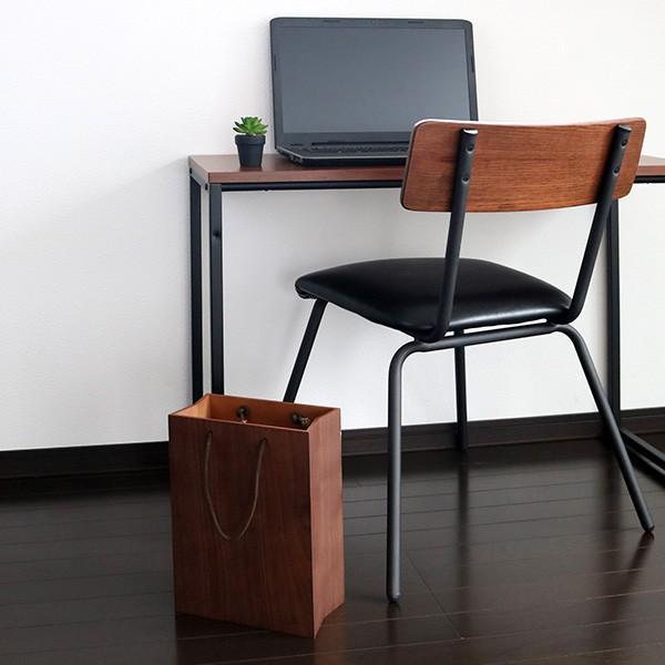 ゴミ箱 ヤマト工芸 yamato BAG dust 木製 吊り下げ 床置き ( ごみ箱 ダストボックス 壁掛け )|interior-palette|12