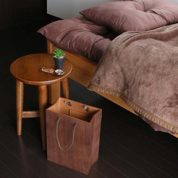 ゴミ箱 ヤマト工芸 yamato BAG dust 木製 吊り下げ 床置き ( ごみ箱 ダストボックス 壁掛け )|interior-palette|13