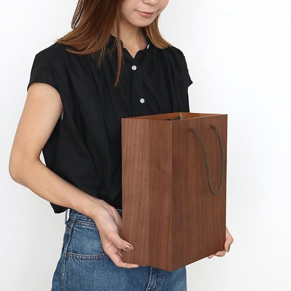ゴミ箱 ヤマト工芸 yamato BAG dust 木製 吊り下げ 床置き ( ごみ箱 ダストボックス 壁掛け )|interior-palette|16