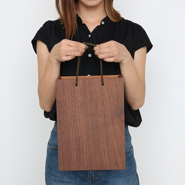 ゴミ箱 ヤマト工芸 yamato BAG dust 木製 吊り下げ 床置き ( ごみ箱 ダストボックス 壁掛け )|interior-palette|10