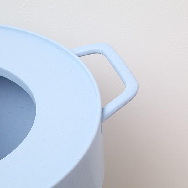ゴミ箱 タップトラッシュ 袋が見えない 壁掛け スタッキング 10L ( ごみ箱 キッチン 吊り下げ )|interior-palette|12