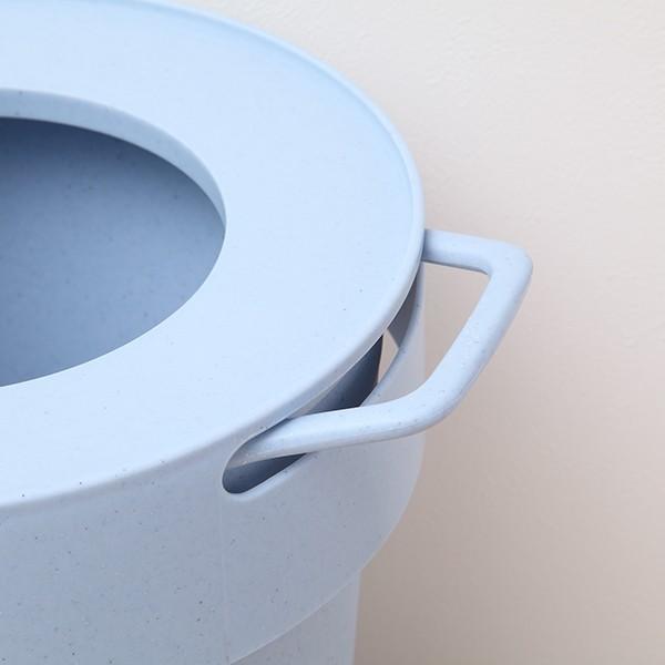 ゴミ箱 タップトラッシュ 袋が見えない 壁掛け スタッキング 10L ( ごみ箱 キッチン 吊り下げ )|interior-palette|13