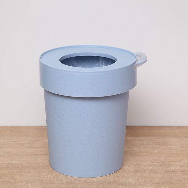 ゴミ箱 タップトラッシュ 袋が見えない 壁掛け スタッキング 10L ( ごみ箱 キッチン 吊り下げ )|interior-palette|17