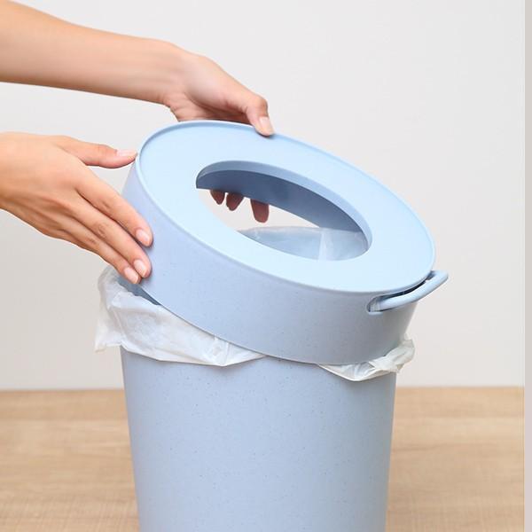 ゴミ箱 タップトラッシュ 袋が見えない 壁掛け スタッキング 10L ( ごみ箱 キッチン 吊り下げ )|interior-palette|18