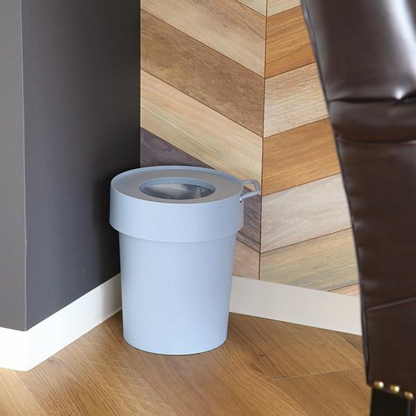 ゴミ箱 タップトラッシュ 袋が見えない 壁掛け スタッキング 10L ( ごみ箱 キッチン 吊り下げ )|interior-palette|20