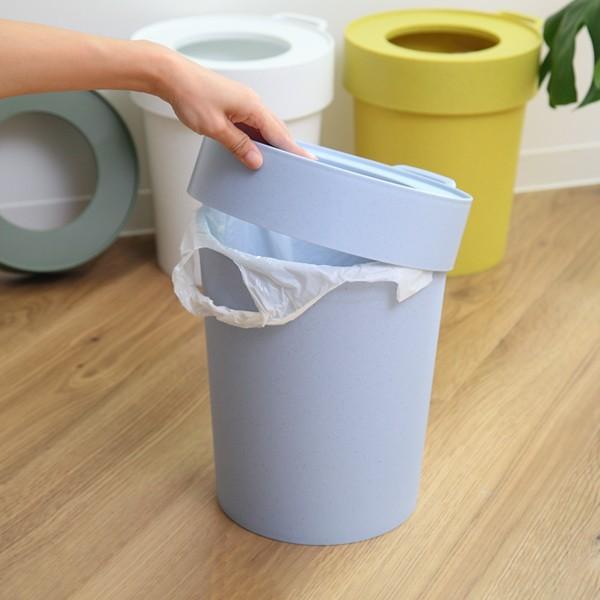 ゴミ箱 タップトラッシュ 袋が見えない 壁掛け スタッキング 10L ( ごみ箱 キッチン 吊り下げ )|interior-palette|05