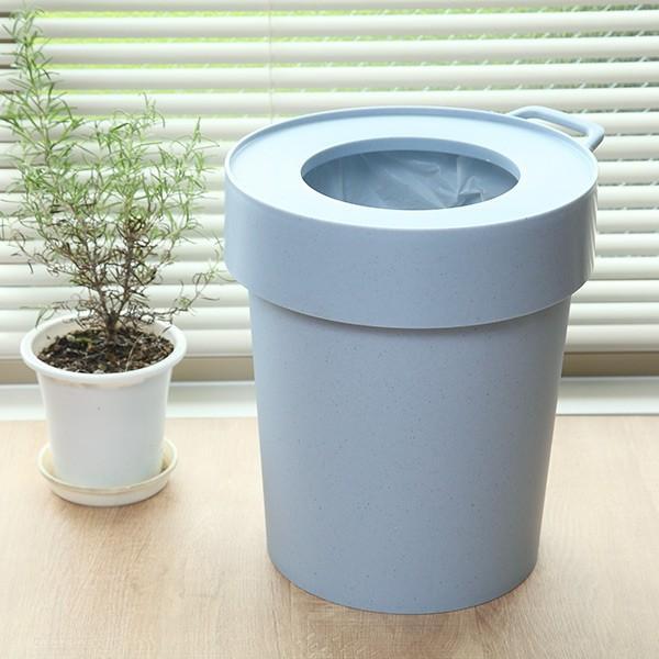 ゴミ箱 タップトラッシュ 袋が見えない 壁掛け スタッキング 10L ( ごみ箱 キッチン 吊り下げ )|interior-palette|06