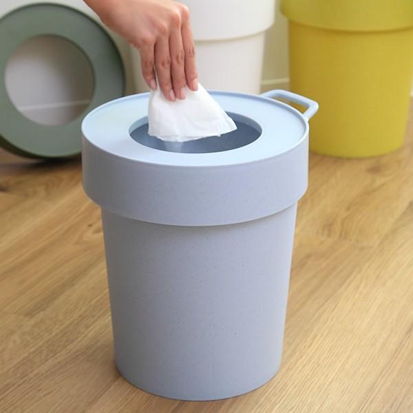 ゴミ箱 タップトラッシュ 袋が見えない 壁掛け スタッキング 10L ( ごみ箱 キッチン 吊り下げ )|interior-palette|07