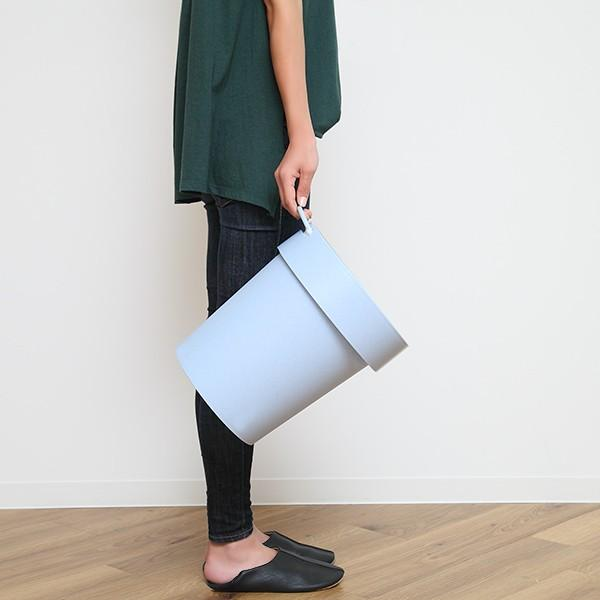 ゴミ箱 タップトラッシュ 袋が見えない 壁掛け スタッキング 10L ( ごみ箱 キッチン 吊り下げ )|interior-palette|08
