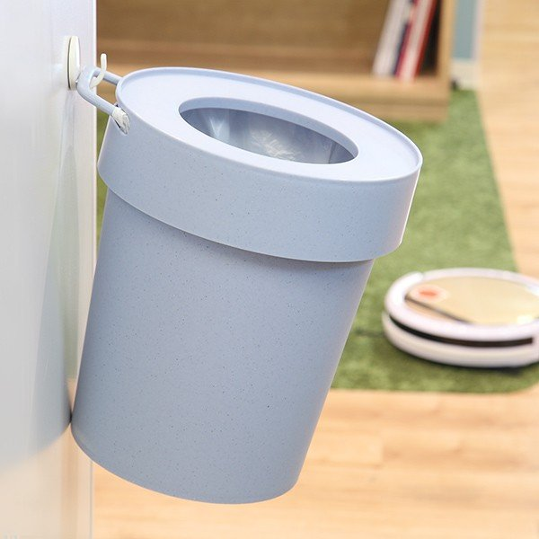 ゴミ箱 タップトラッシュ 袋が見えない 壁掛け スタッキング 10L ( ごみ箱 キッチン 吊り下げ )|interior-palette|09