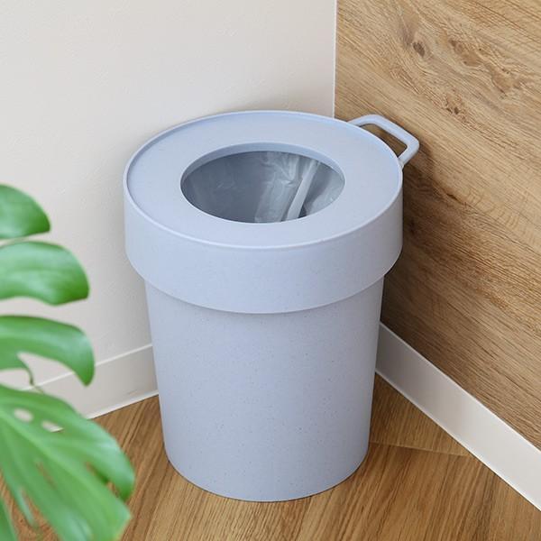 ゴミ箱 タップトラッシュ 袋が見えない 壁掛け スタッキング 10L ( ごみ箱 キッチン 吊り下げ )|interior-palette|10