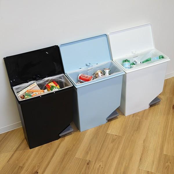 ゴミ箱 ユニード スイッチペダル 35L 横型 縦型 ペダル式 ふた付き ( ごみ箱 キッチン スリム ) interior-palette 11