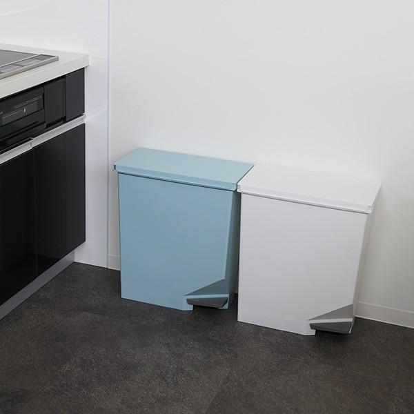 ゴミ箱 ユニード スイッチペダル 35L 横型 縦型 ペダル式 ふた付き ( ごみ箱 キッチン スリム ) interior-palette 13