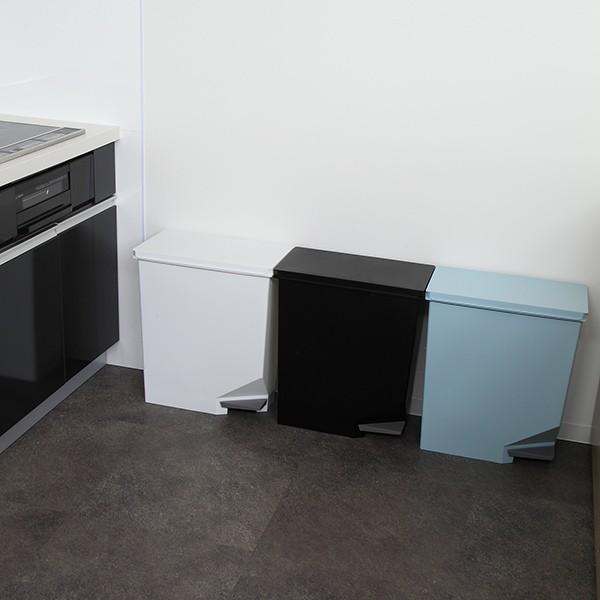 ゴミ箱 ユニード スイッチペダル 35L 横型 縦型 ペダル式 ふた付き ( ごみ箱 キッチン スリム ) interior-palette 14
