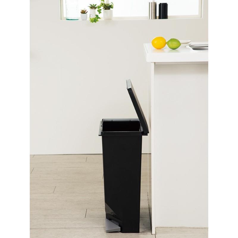 ゴミ箱 ユニード スイッチペダル 35L 横型 縦型 ペダル式 ふた付き ( ごみ箱 キッチン スリム ) interior-palette 16