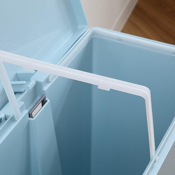 ゴミ箱 ユニード スイッチペダル 35L 横型 縦型 ペダル式 ふた付き ( ごみ箱 キッチン スリム ) interior-palette 20