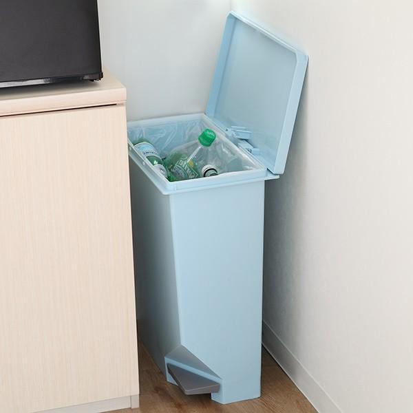 ゴミ箱 ユニード スイッチペダル 35L 横型 縦型 ペダル式 ふた付き ( ごみ箱 キッチン スリム ) interior-palette 09