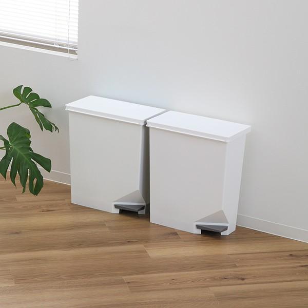 ゴミ箱 ユニード スイッチペダル 35L 横型 縦型 ペダル式 ふた付き ( ごみ箱 キッチン スリム ) interior-palette 10