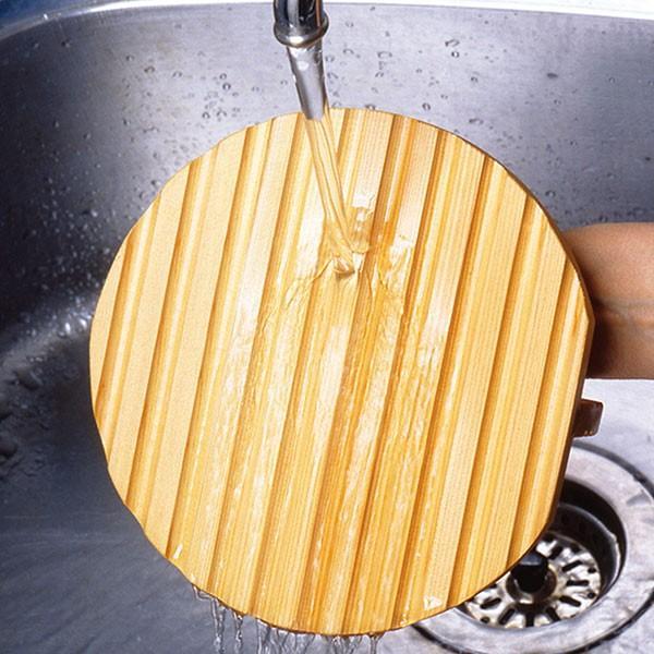 落とし蓋 18cm アク取り落し蓋 木製 ( 落し蓋 あくとり あく取り )|interior-palette|04