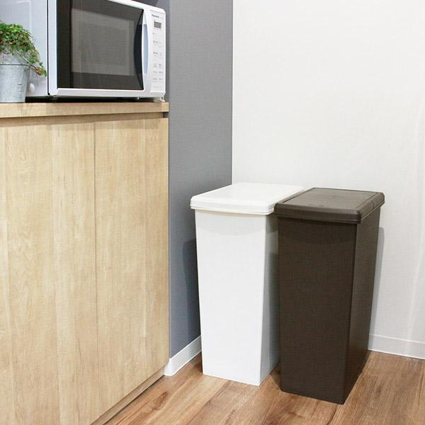 ゴミ箱 45リットル 分別 ふた付き 分別 スライドペール 45L ごみ箱 ダストボックス ( キッチン スライド キャスター スリム おしゃれ おすすめ )|interior-palette|16