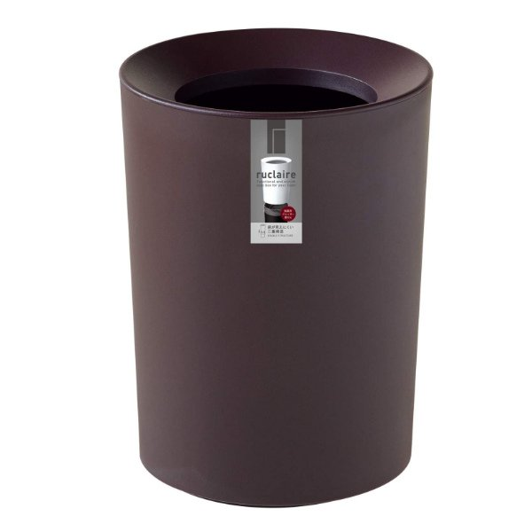 ゴミ箱 2L カバー付き 袋が見えない ごみ箱 ダストボックス 屑入れ 丸型 小さめ 洗面台 卓上 ( ミニ 小さい 丸 スリム フタなし 袋 見えない 2 リットル )|interior-palette|14