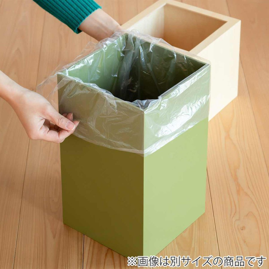ゴミ箱 木製 4L W CUBE カバー付き おしゃれ くず入れ ダストボックス 日本製 ( ごみ箱 キッチン くずかご くずいれ )|interior-palette|15