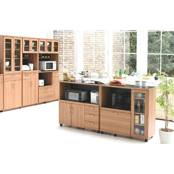 レンジ台 キッチンラック 食器棚 北欧風 Keittio 幅90cm ( レンジボード キッチン収納 レンジラック 90幅 )|interior-palette|07