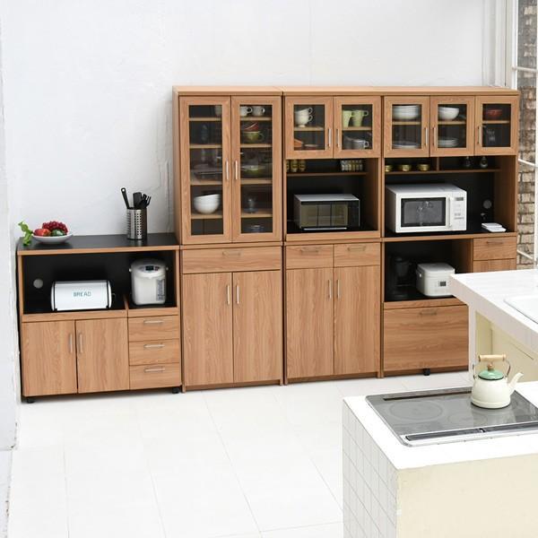 レンジ台 キッチンラック 食器棚 北欧風 Keittio 幅90cm ( レンジボード キッチン収納 レンジラック 90幅 )|interior-palette|09