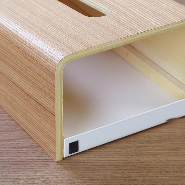 ティッシュケース ティッシュボックス ティッシュカバー 縦型 木製 Rin 山崎実業 ( ティッシュ リビング シンプル おしゃれ )|interior-palette|05