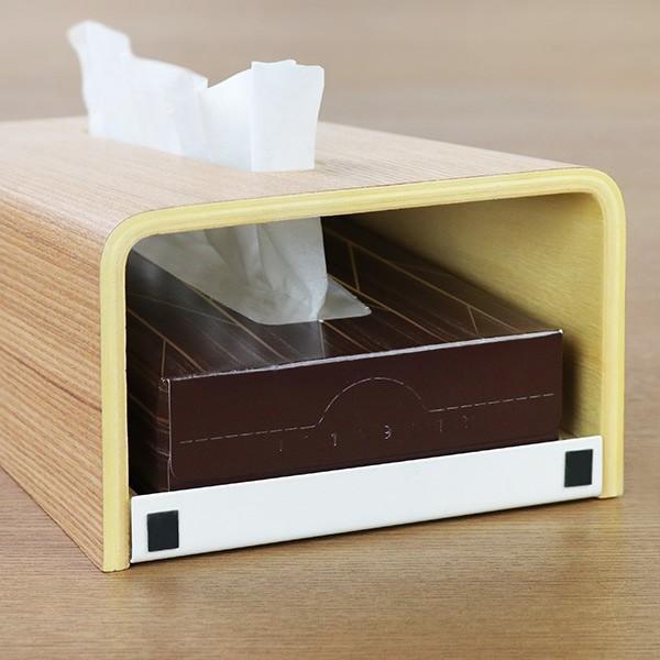 ティッシュケース ティッシュボックス ティッシュカバー 縦型 木製 Rin 山崎実業 ( ティッシュ リビング シンプル おしゃれ )|interior-palette|06