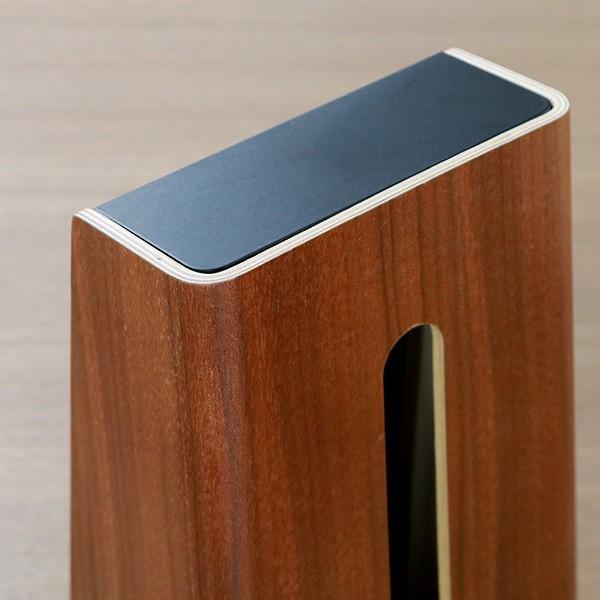 ティッシュケース ティッシュボックス ティッシュカバー 縦型 木製 Rin 山崎実業 ( ティッシュ リビング シンプル おしゃれ )|interior-palette|07