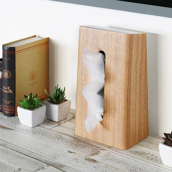 ティッシュケース ティッシュボックス ティッシュカバー 縦型 木製 Rin 山崎実業 ( ティッシュ リビング シンプル おしゃれ )|interior-palette|08
