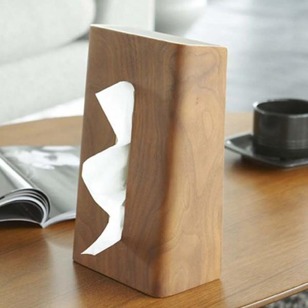 ティッシュケース ティッシュボックス ティッシュカバー 縦型 木製 Rin 山崎実業 ( ティッシュ リビング シンプル おしゃれ )|interior-palette|09